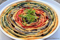 Wegetariańska Kuchnia: Tort naleśnikowy z warzywami