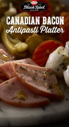 Hormel Foods Recipes: Easy dishes for everyone to enjoy. Antipasti Platter, Charcuterie, Healthy Appetizers, Appetizer Recipes, Savoury Dishes, Food Dishes, Hormel Foods, Canadian Bacon, Sports Food