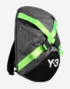 Y-3 FS Backpack - First introduced for Y-3's 10th anniversary, the distinctive X-strap design of the Future Sport Backpack has proved a popular, enduring style. This bag combines sporty, technically-inspired styling with a functional design that works for every day.