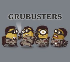 Ghostbuster minions