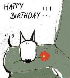images about Happy Birthday 🎂 on We Heart It Happy Birthday Art, Happy Birthday Wishes Cards, Happy Birthday Pictures, Birthday Wishes Quotes, Birthday Love, Birthday Pins, Happy Birthday Illustration, Happy B Day, Illustrations