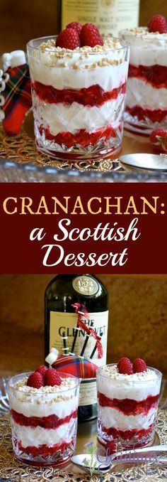 Cranachan, A Lovely Scottish Dessert (recipe for US kitchens)