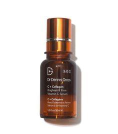 Dr Dennis Gross C+ Collagen Brighten & Firm Vitamin C Serum Best Anti Aging Serum, Anti Aging Skin Care, Skin Care Regimen, Skin Care Tips, Thing 1, Vitamin C Mask, Dennis, Skin Firming