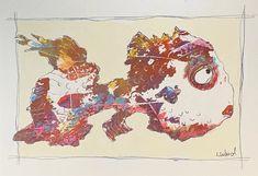 Painted Fish, Art Tutorials, Beautiful Images, Moose Art, Wood, Inspiration, Animals, Magic, Journal