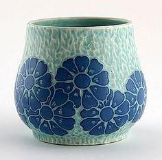 sgraffito   Gorgeous Josef Ekberg Gustavsberg Sgraffito Vase (item #513627)