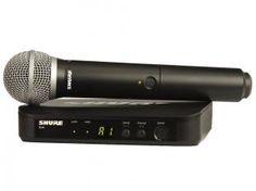 Microfone Mão BLX 24 PG 58 - Shure