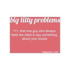 Big Titty Problems found on Polyvore