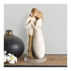 Willow Tree Promsie Figurine | 30th Anniversary Gifts For Couples, Husband, Wife, Him, Her