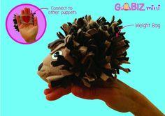 GABIZ mini sensory puppets