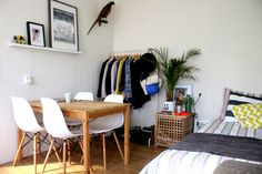 studentenkamer.inrichten - Google zoeken Student Apartment, Student Room, Student House, Small Room Decor, Small Rooms, Tiny Spaces, New Room, Decoration, House Design