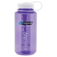 Purple with White lid Nalgene 32 oz. Wide Mouth Bottle- Vermont's Barre Army Navy Store