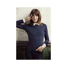Alexa Chung for Vero Moda's Fall 2012 Campaign ❤ liked on Polyvore