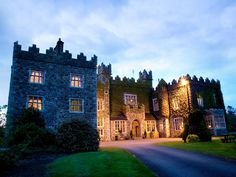Waterford Castle, Ireland  by Night