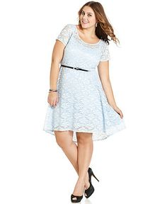 onyx plus size dress, cap sleeve sequin lace cocktail dress - plus