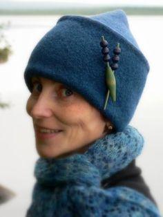 Fabulous felted hat by Lene Alve! D a n c e s W i t h W o o l