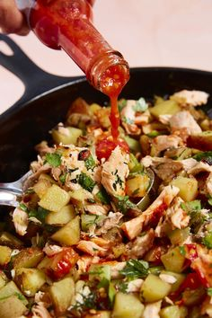 Recipe: Salmon Hash with Yukon Gold Potatoes and Herbs — Weeknight-Friendly Salmon Recipes from Diane Morgan