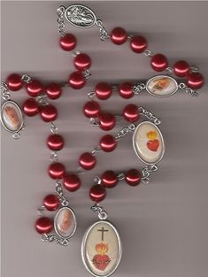 "Bracelets//Your Choice of Metal Immaculate Conception /""Mini Medal/"" for Rosary"