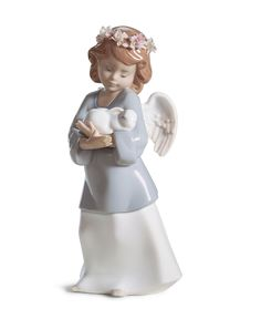 Lladro Collectible Figurine, Heavenly Love