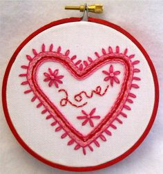 Love it. So my style (color, heart, flowers)  Love's Splendour by TroublesTreasures on Etsy