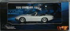 """JAMES BOND : Toyota 2000 GT from """"You Only Live Twice"""" die cast model"""