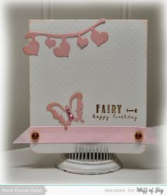 Me myself and scrapping: Fairy happy birthday