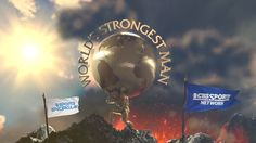 Broadcast show open for World's Strongest Man on CBS Sports Network