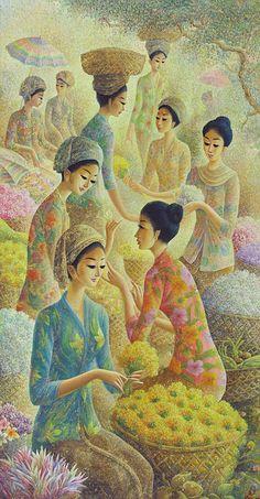 Pranagung - Pasar Bunga & 10 Gadis
