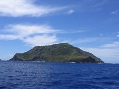 Pitcairn Island. One of the most difficult places to get to on earth and home of the descendents of the Bounty mutineers