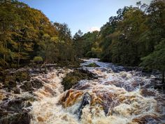 [OC] Falls of Feugh, Banchory, Scotland x National Photography, Image Editing, Single Image, Days Out, Landscape Photographers, Ponds, Mother Earth, Rivers, Lakes