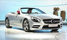 "2013 Mercedes-Benz SL -- listed as one of the ""12 cars we can't wait to drive"".  Yes!"