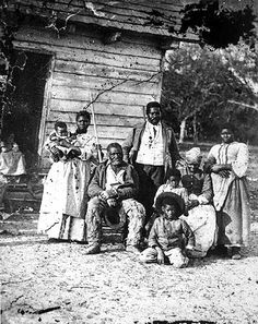 5 generations on Smith's plantation, Beaufort, SC This family was photographed in 1862 after Union forces captured coastal area of SC. Taken by Timothy O'Sullivan at the J. J. Smith plantation, this picture was exhibited at Alexander Gardner's Washington, D.C., photography gallery in September 1863. In contrast to this South Carolina family, the history of the slaves was usually marked by efforts of enslaved African Americans to maintain family in the face of forced break-ups and sales.