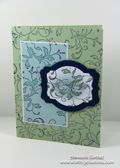 A Different Triple Time Stamping Technique by zainy3018 - Cards and Paper Crafts at Splitcoaststampers