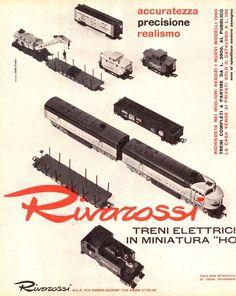 Pubblicità originale Anni 60 RIVAROSSI Advertising Werbung vintage reklame OLD