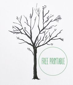 bare tree template my room pinterest bare tree template and