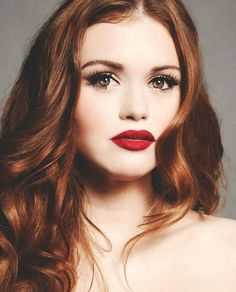 Holland Roden is stunning.