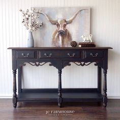 @cececaldwell posted to Instagram: That's it!! We are moving to Colorado! JC Farmhouse Designs finds the best looking pieces.  Love the Beckley Coal on this console table.  @jcfarmhousedesigns #farmhousestyle #farmhouse #cottagestyle #vintagefinds #frenchcountry #cottagedecor #onetofollow #vintageboutique #farmhousedecor #modernfarmhouse #myhousebeautiful #vintagefarmhouse #rusticchic #interiorandhome #interior444 #vintagestuff #interior2you #loves_vintage #mybhg #neutraldecor #farmhousechic #fi