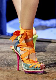 YvetteIsStyling: Christian Dior Does it Again... That is a party on my foot!