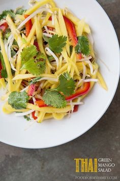 Thai Green Mango Salad | Community Post: 17 Recipes To Get You Extra Excited For Mango Season