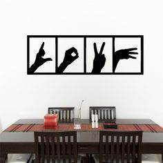2018 New Rushed Wall Sticker Love Hands Sign Bedroom Living Kitchen Room Decal Wall Art Sticker Home Decor Removable Vinyl Wall Stickers Love, Wall Decals, Wall Art, Kitchen Stickers, How To Remove, Hands, Sign, Bedroom, Home Decor