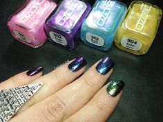 Ozotic Sugar collection review | Fashion Polish - I have  904 (yellow) $10