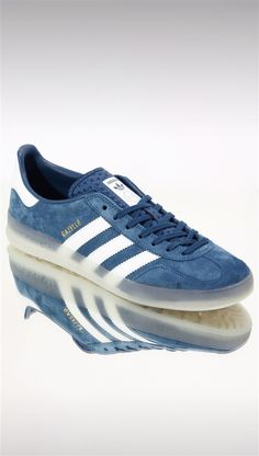 adidas Originals Gazelle Indoor Trainers: Blue
