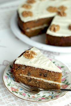 Torta de zanahoria~Carrot Cake