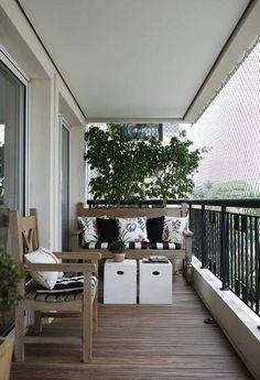 Balcon / decoracion / exterior -