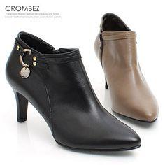 [패션플러스][Crombez]크롬베즈 써클 뾰족코 부티앵글 JA28641F/크롬베즈,부츠,앵클부츠 Ganji Fashion