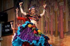 Persephone Dance Company, looks like Tribal Fest