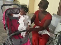 Nollywood actress, Mercy Johnson was spotted at the airport with her daughter, Purity…