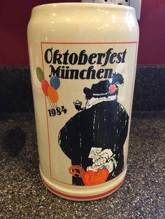 1984 Munich/Munchen Oktoberfest German Beer Stein/Mug by Rastal Emil Sogor
