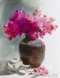 Корейская живопись. Ян Вон Хи – Yang Won Hee (양원희). Республика Корея