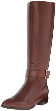 Nine West Women's Diablo Leather Knee-High Boot -- Wow! I love this. Check it out now! : Women's boots
