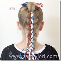 Stars & Stripes Ponytail